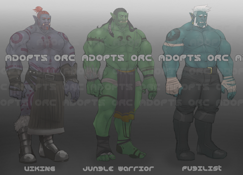 Orc Adopts Round 1 [SOLD] by Benzy