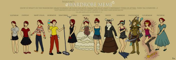 Wardrobe meme by Ywi