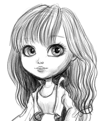 Pullip Draw by Luckytrefle