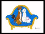 PIN, Los Aristogatos by Rob32