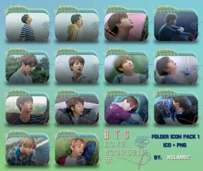 BTS Love Yourself 'Her' Folder Icon Pack 1 by nslam92