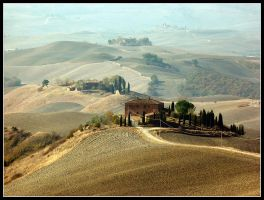 Autumn in Tuscany Landscape by kanes