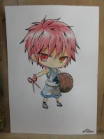 Seijuro Akashi rom KnB in color by miki4212