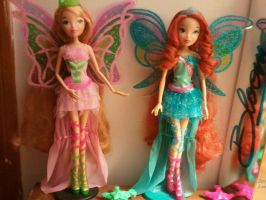 Harmonix dolls by WinxChan23