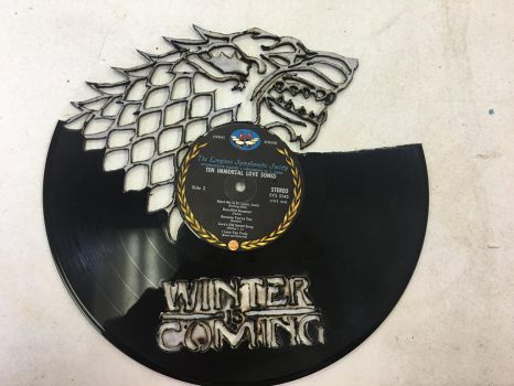 Game of Thrones: Winter is Coming Record by Phantomheero