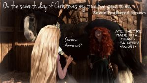 On the seventh day of Christmas by 1JoyDreamer