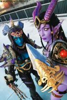 World of Warcraft (Cartoomics 2014) 01 by Noriyuki83
