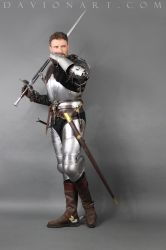 15th Century Knight STOCK VI by PhelanDavion