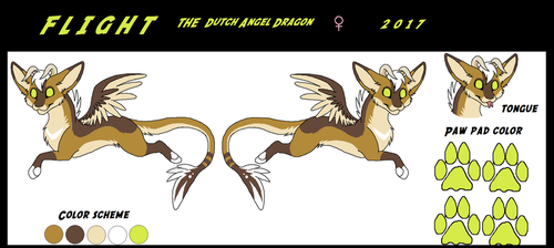 Flight the Dutch Angel Dragon ref: (2017) by WolfieMoonscar