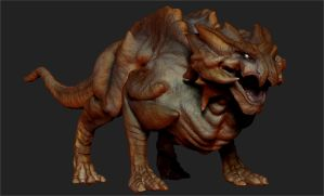 ZBrush - Leatherback Doodle by Rebecca1208