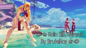 Kolin Silk Swimsuit By BrutalAce by BrutalAce