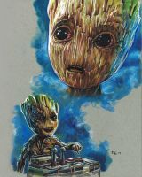 Baby Groot by RobD4E