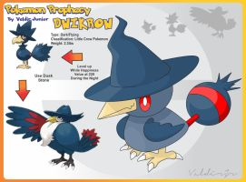 Dwikrow Pre Evolution of Murkrow