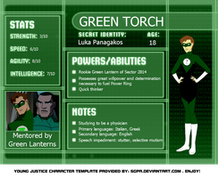 Green Torch Cave File by Si1verwing
