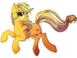 Applejack Collab by ZodiacZero