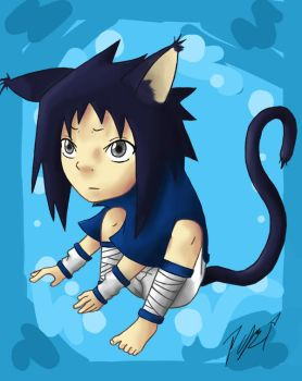 Neko Sasuke by Peace-love-frogs