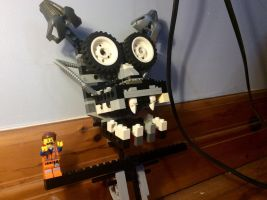 Five nights at freddys Lego endo skeleton by Ian-exe