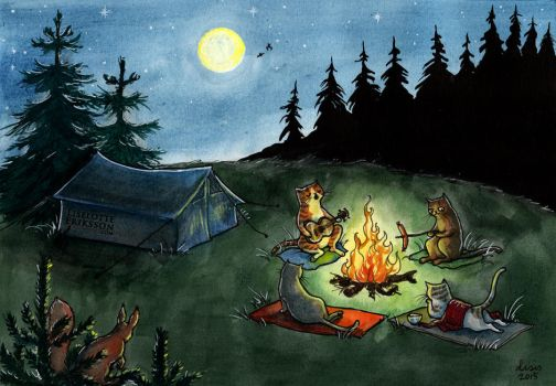 Kitty Campers by liselotte-eriksson