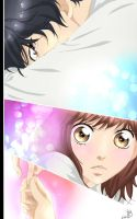 Ao Haru Ride - Color Art by Chuuubiii