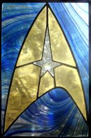 Star Trek Stained Glass by bigblued