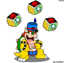 Drum it up, Bowser by YoshiMan1118