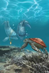 dolphin turtle by Ericorion