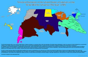 SW: Territorial Evolution of the United States 1 by ThanyTony