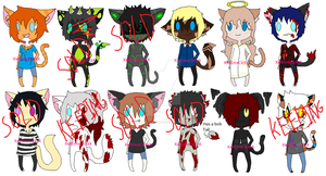 Cat Adopt Set (5/12 OPEN OTA) by XxXEmberxCirsalasXxX