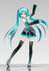 MMD - Appearance Miku  ver1.00 by TOUKO-P