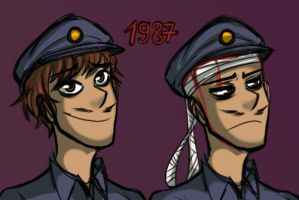 Fritz Smith - before and after by Lappystel