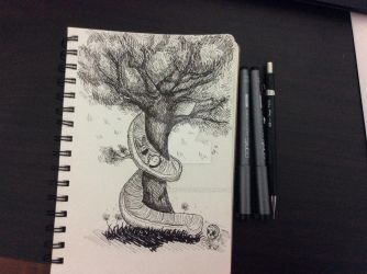 Tree of life by xDarkImagination