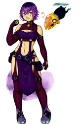 Out of Retirement: Keyblade Warrior Makioo by MightyMaki