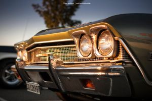 1969 Chevrolet Malibu Front by AmericanMuscle