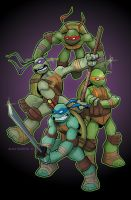 Turtle Power by Bloodzilla-Billy