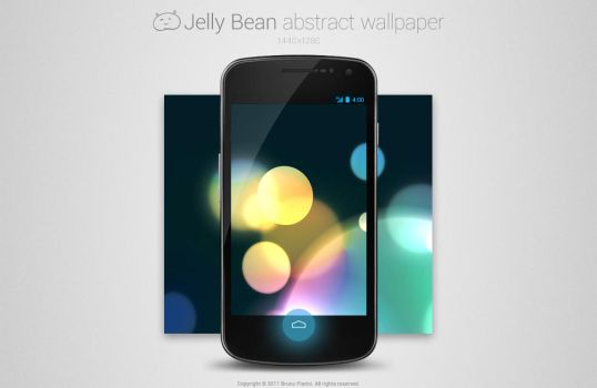 Jelly Bean Abstract Wallpaper by Nemed
