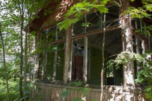 Abandoned 2 by ManicHysteriaStock