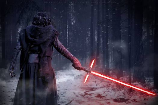 Kylo Ren cosplay Star Wars Awakens by 14th-division