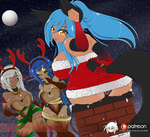 Patreon December 2017 - Not-so-Silent Night by Sarukin