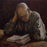 The Reader by Bill Root by ericdalrymple
