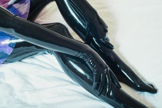 Latex gloves and stockings by PascalsProxy