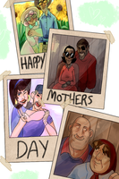 Rad mothers by Ful-Fisk