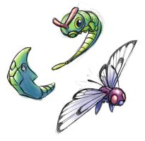 PKMN Caterpie Family