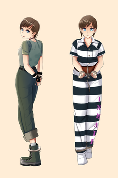 Rebecca Chambers [Commission] by EN17