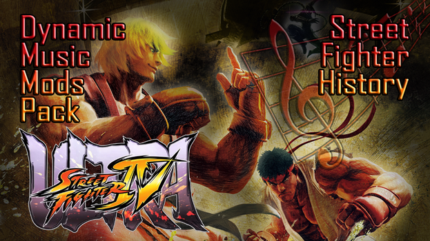 USF4 Dynamic Music Mods - Old Themes pack V1.0 by ATRyoSakazaki