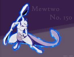 Mewtwo - Birthday 2017 by Kokoro-Tokoro