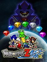Request - Super Mario Bros Z Kai Poster by AsylusGoji91