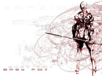 Grey Fox MGS Wallpaper by AdamTogstad
