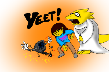 Yeet! by TheMapleSyrupShow
