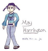 May Harrington by jellybeansniper
