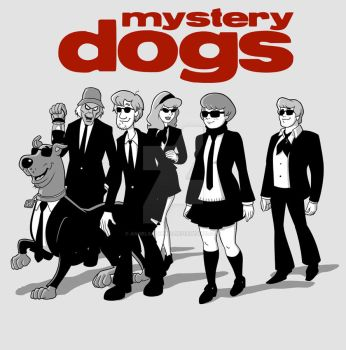 Mystery Dogs by angelsaquero